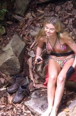 GEORGIA TOFFOLO on the Set of Ii'm a Celebrity… Get Me Out of Here! in Australia 11/25/2017