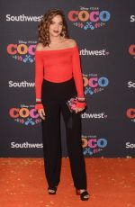 GEORGIE FLORES at Coco Premiere in Los Angeles 11/08/2017