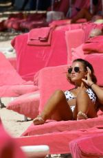 GEORGINA LEIGH CANTWELL in Bikini at a Beach in Barbados 11/05/2017