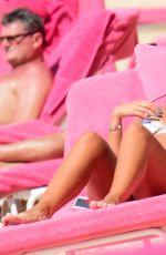 GEORGINA LEIGH CANTWELL in Bikini on the Beach in Barbados 11/06/2017
