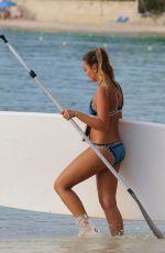 GEORGINA LEIGH CANTWELL in Bikini Paddle Boarding in Barbados 11/06/2017