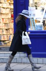 GERI HALLIWELL Out Shopping Chocolate in London 11/18/2017