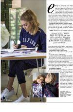 GIGI and BELLA HADID in Hola Fashion Magazine, October 2017 Issue