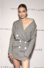 GIGI HADID at Gigi Hadid x Maybelline New York International Launch Party 11/03/2017