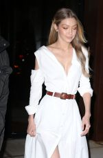 GIGI HADID Leaves Her Apartment in New York 11/15/2017