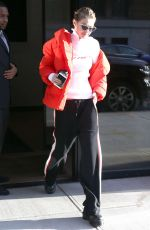GIGI HADID Out and About in New York 11/14/2017