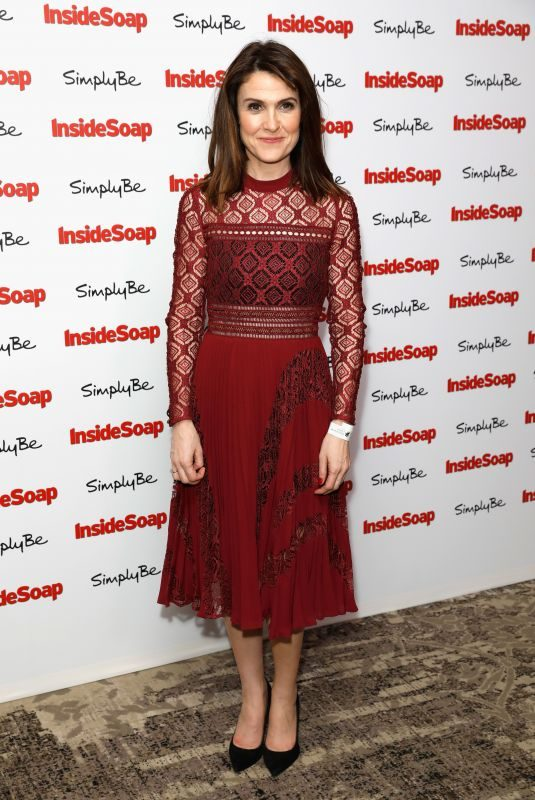 GILLIAN KEARNEY at Inside Soap Awards 2017 in London 11/06/2017