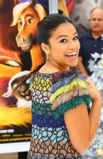 GINA RODRIGUEZ at The Star Premiere in Los Angeles 11/12/2017