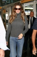 GISELE BUNDCHEN at Guarulhos Airport in Sao Paulo 11/29/2017