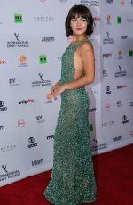 GIULLIA BUSCACIO at 2017 International Emmy Awards in New York 11/20/2017
