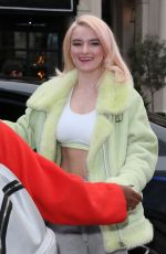 GRACE CHATTO Arrives at Capital Radio in London 11/09/2017