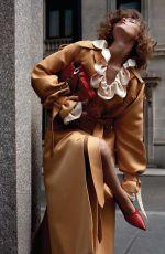 GRACE ELIZABETH for Vogue Magazine, China December 2017