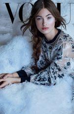 GRACE ELIZABETH for Vogue Magazine, Mexico December 2017