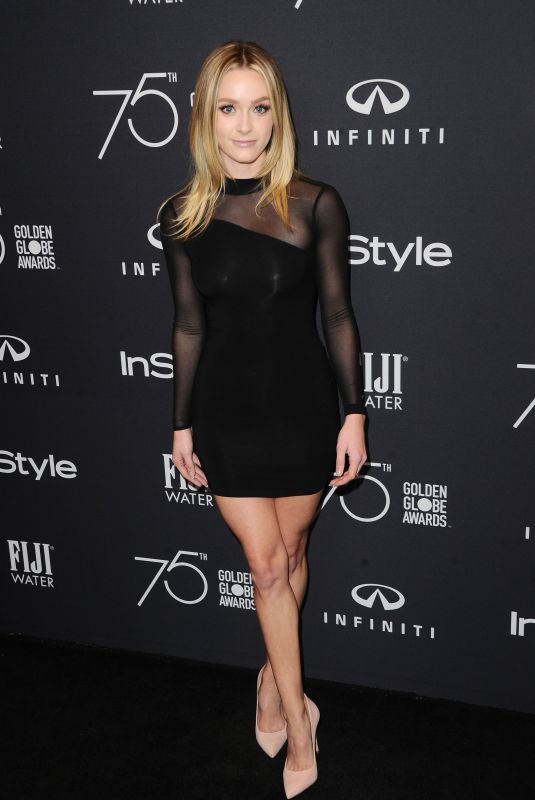 GREER GRAMMER at HFPA & Instyle Celebrate 75th Anniversary of the Golden Globes in Los Angeles 11/15/2017