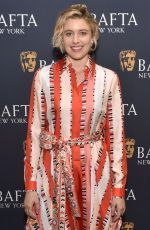 GRETA GERWIG at Lady Bird Bafta Screening in New York 11/19/2017