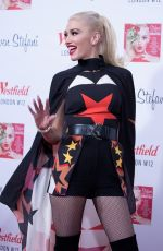 GWEN STEFANI at Christmas Lighting Ceremony at Westfield White City Shopping Centre in London 11/30/2017