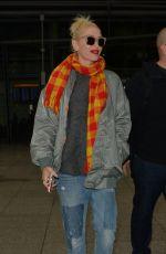 GWEN STEFANI at Heathrow Airport in London 11/29/2017
