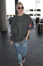 GWEN STEFANI at Los Angeles International Airport 11/28/2017