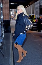 GWEN STEFANI at Today Show in New York 11/20/2017