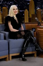 GWEN STEFANI at Tonight Show Starring Jimmy Fallon in New York 11/21/2017