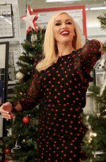 GWEN STEFANI Promotes Her New Christmas Album in New York 11/20/2017