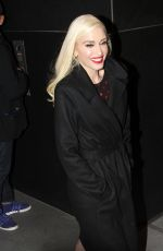 GWEN STEFANIE Leaves Her You Make It Feel Like Christmas Album Promotion in New York 11/20/2017