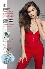 HAILEE STEINFELD in Cosmopolitan Magazine, December 2017