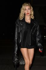 HAILEY BALDWIN at Kendall's Jenner Birthday Party at Petite Taqueria in West Hollywood 11/02/2017