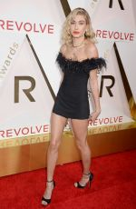 HAILEY BALDWIN at #revolveawards in Hollywood 11/02/2017