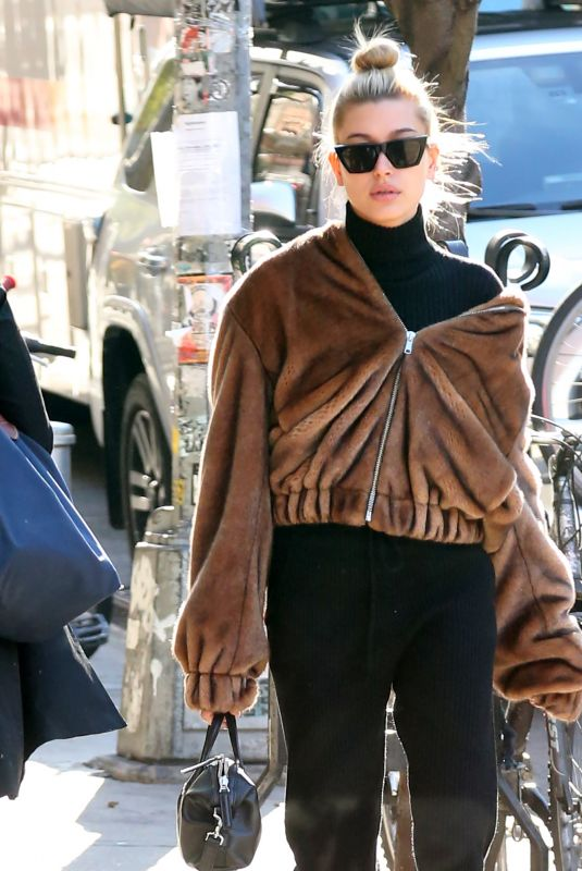 HAILEY BALDWIN Out and About in New York 11/21/2017