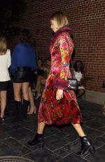 HAILEY CLAUSON Arrives at Highlight Room in Hollywood 11/04/2017