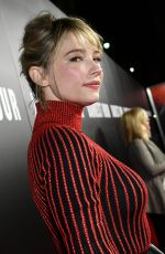 HALEY BENNETT at Darkest Hour Premiere in Los Angeles 11/08/2017