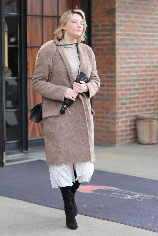 HALEY BENNETT Leaves Her Hotel in New York 11/15/2017