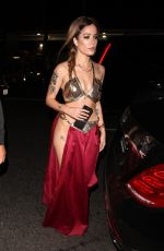 HALSEY at Halloween Party at Delilah in West Hollywood 10/31/2017