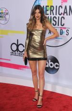 HANNAH STOCKING at American Music Awards 2017 at Microsoft Theater in Los Angeles 11/19/2017