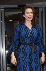 HAYLEY ATWELL at BBC Radio 2 in London 11/10/2017