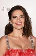 HAYLEY ATWELL at Harper