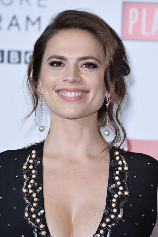 HAYLEY ATWELL at Howards End Photocall in London 11/01/2017