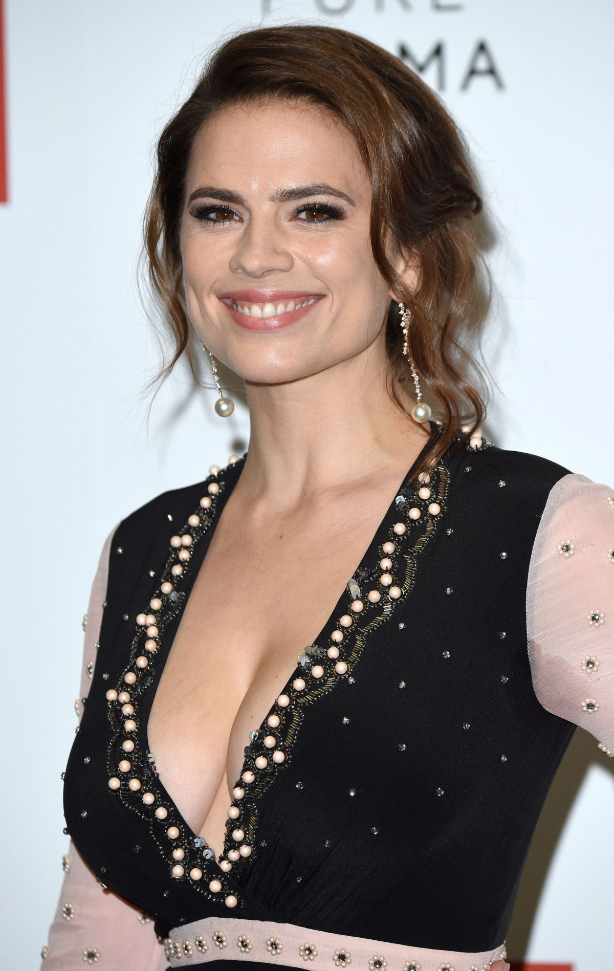 HAYLEY ATWELL at Howards End Screening in London 11/01