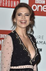 HAYLEY ATWELL at Howards End Screening in London 11/01/2017