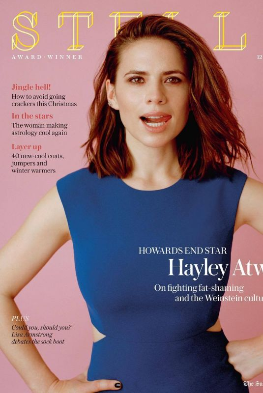 HAYLEY ATWELL for Stella Magazine, November 2017