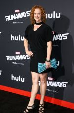 HEATHER OLT at Runaways Premiere in Los Angeles 11/16/2017