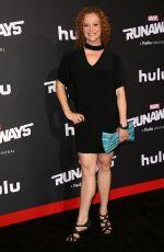 HEATHER OLT at Runaways Premiere in Los Angeles 11/16/2017