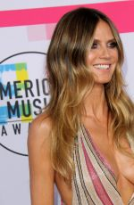 HEIDI KLUM at American Music Awards 2017 at Microsoft Theater in Los Angeles 11/19/2017