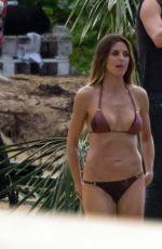 HEIDI KLUM in Bikini at a Beach in Dominican Republic 11/07/2017