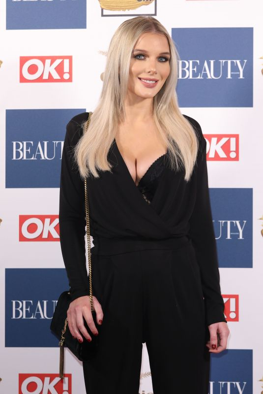 HELEN FLANAGAN at OK! Magazine Beauty Awards in London 11/28/2017