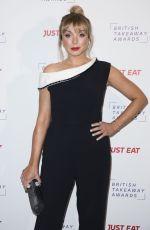HELEN GEORGE at British Takeaway Awards 11/27/2017