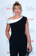 HELEN GEORGE at British Takeaway Awards 11/27/2017