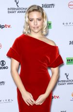 HELENE YORKE at 2017 International Emmy Awards in New York 11/20/2017