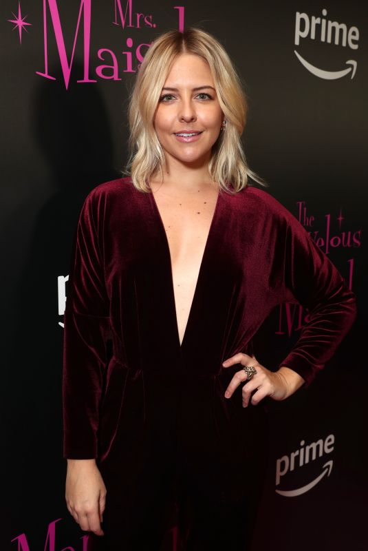 HELENE YORKE at The Marvelous Mrs. Maisel TV SERIES Premiere in New York 11/13/2017